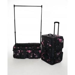 Rac n Roll Dance Bag - Pink Stars
