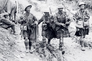 Military Pipers and Their Bagpipes