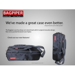 Bagpiper Case - Black
