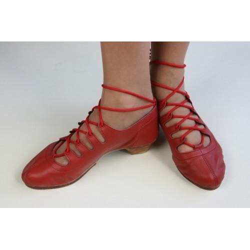 James Senior Jig Shoes - Red