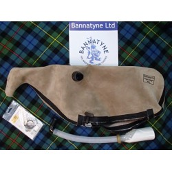 Bannatyne Hide Synthetic Pipe Bag with Zipper